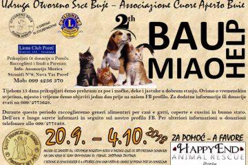 BAU MIAO Help 20.09.-04.10.2018.