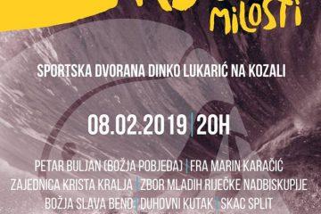 """Koncert """"Rijeka Milosti"""" 08.02.2019."""