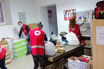 Volontiranje u Crvenom križu Buje tijekom pandemije